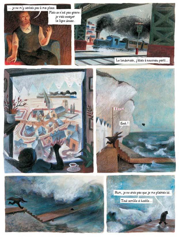 BD d'après Charles Dickens - Rodolphe scénario Estelle Meyrand dessin/couleur