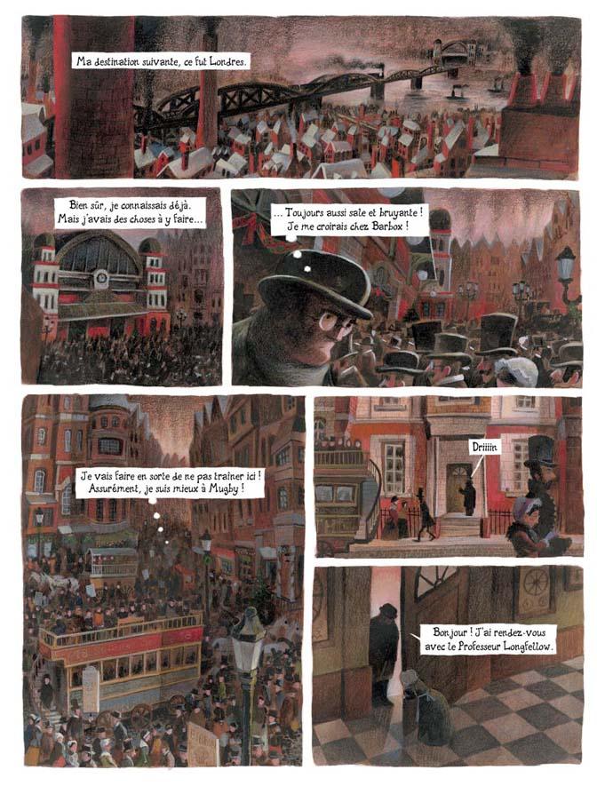 Adaptation BD d'un conte de Noël de Charles Dickens.