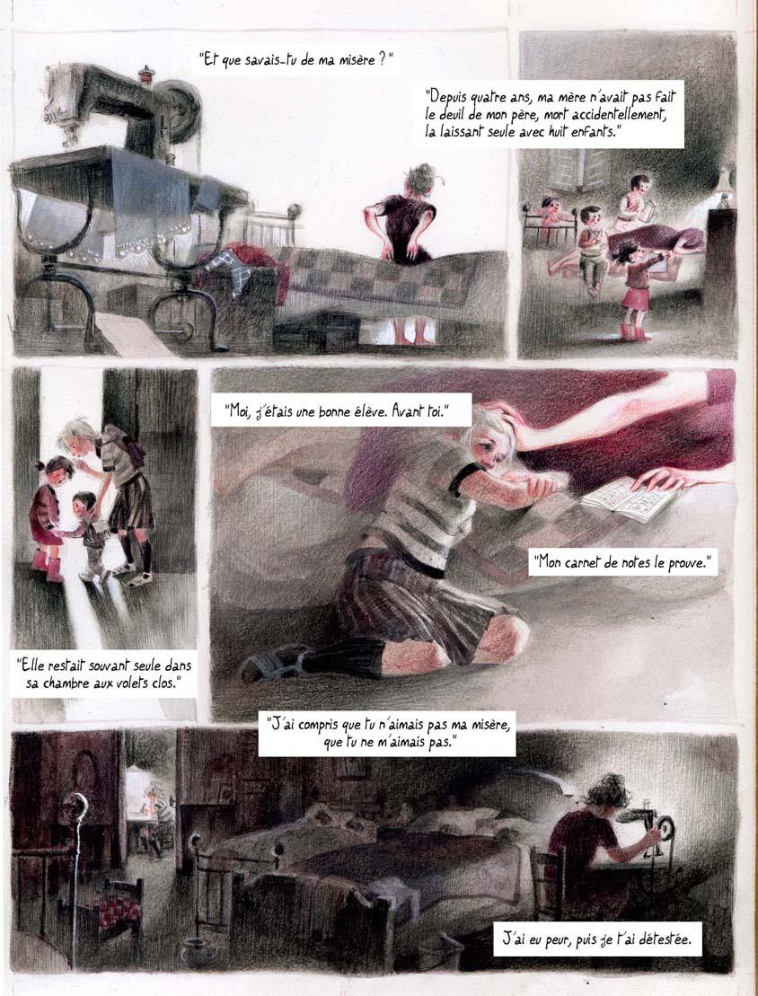 Adaptation en BD d'un témoignage au temps des cités d'urgence de l'abbé Pierre.