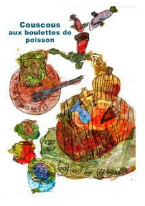 Couscous poisson boulettes