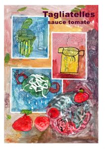 Tagliatelles tomate