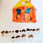 Dessin d'imagination d'enfant. Peinture à l'aquarelle- estelle meyrand