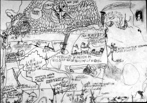 illustration réalisée par des enfants - cours de dessin - arts splastiques - estelle emyrand
