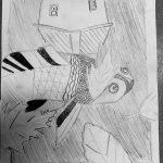 dessin d'enfant d'après Escher.