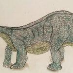 Dessins d'enfants - dinosaures