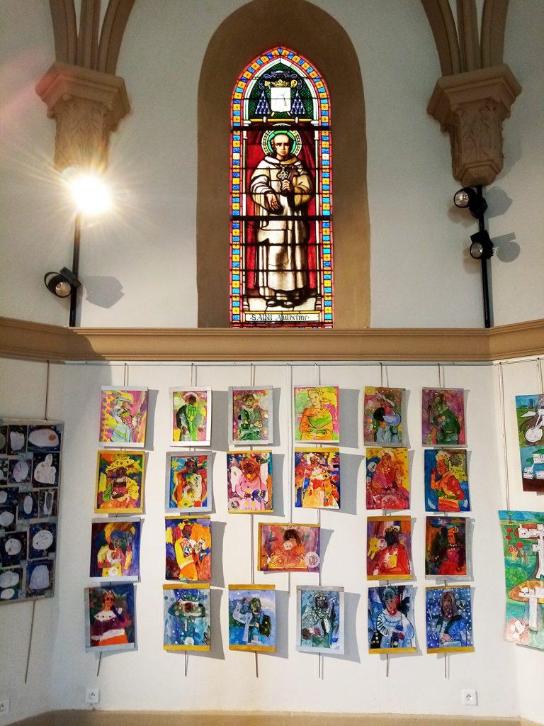 Rillieux la Pape - parcours artistiques 2021 - expo vi4r1tuelle chapelle de la buissière