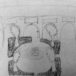 Croquis en plein air - dessins denfants - Ateliers Terreaux